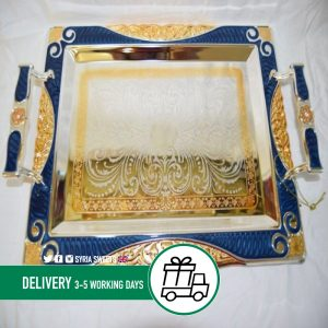 Syria-Sweet-Designs-Blue-and-gold-Tray-