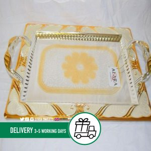 Syria-Sweet-Designs-Gold-&-off-white-Tray