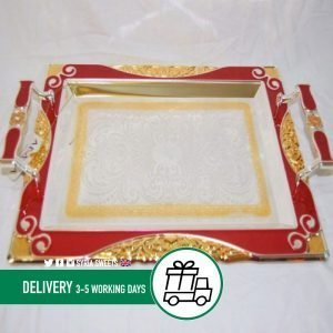 Syria-Sweet-Gold-&-Red-Tray