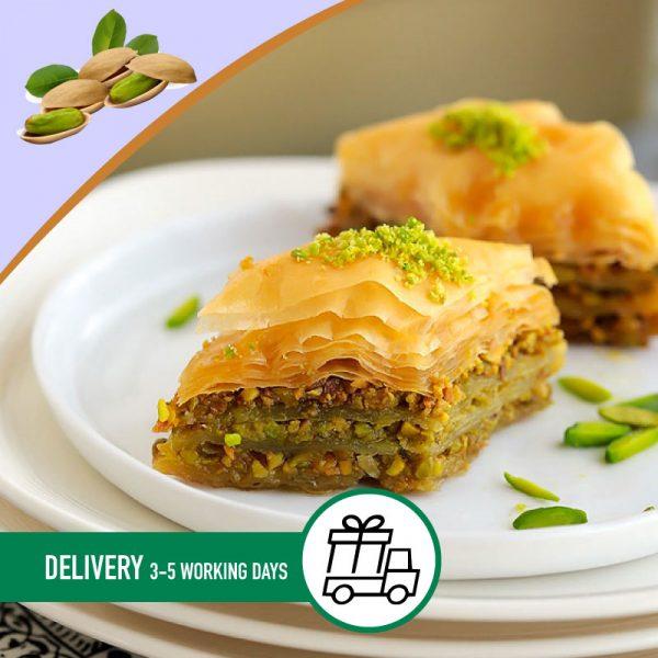 Syria-Sweet-Dimond-pistachio-Baklava