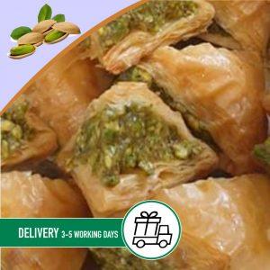 Syria-Sweet-Pistachio-Warbbat-Baklava