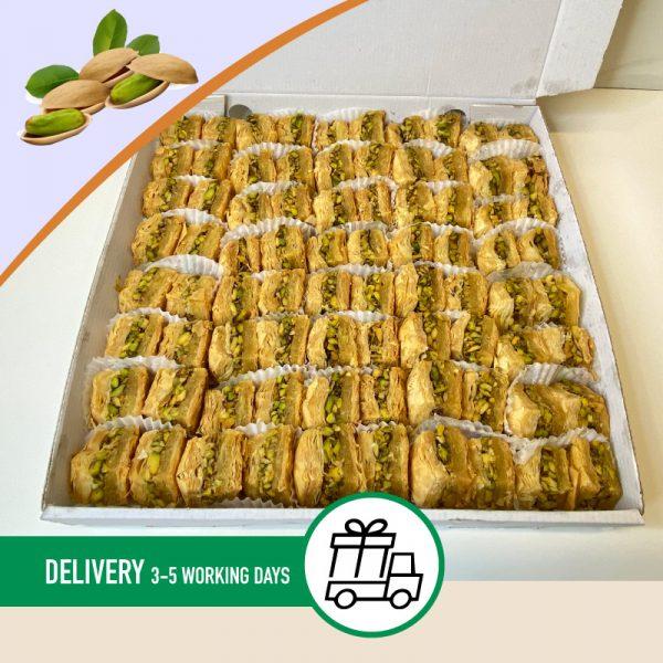 Syria-Sweet-3kg-Pistachio-Baklawa