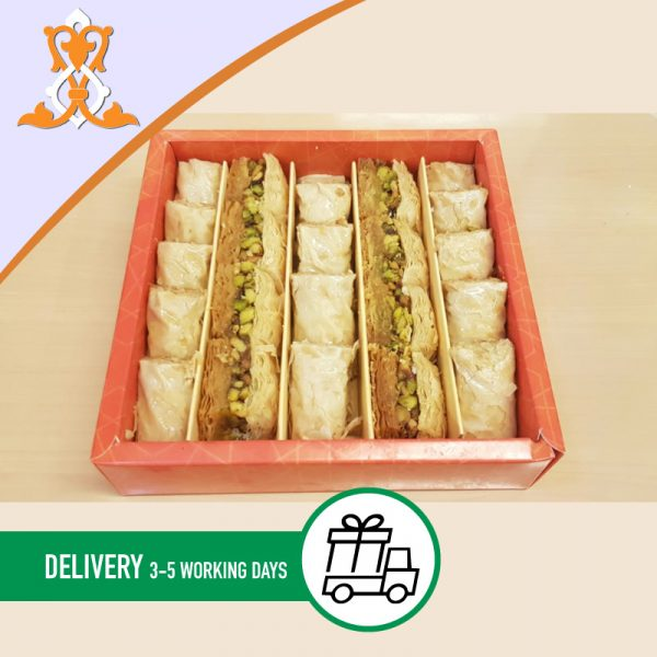 Syria-Sweet-Baklawa-and-cachio-fingers-box-400g