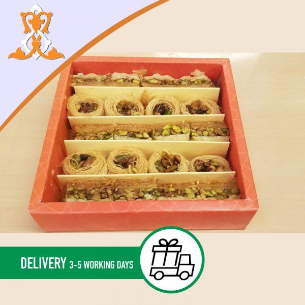 Syria-Sweet-Designs-Baklawa-and-birdnest-box-400g