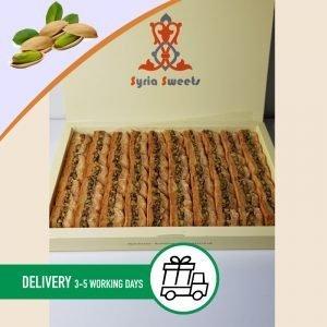 Syria-Sweet-Designs-Pistachio-Baklawa-1.2kg