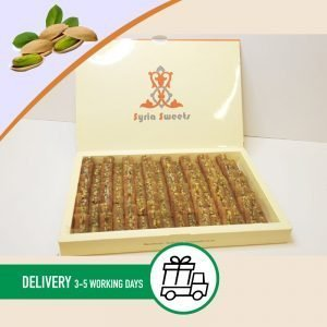 Syria-Sweet-Designs-Pistachio-Knafah-in-Syria-Sweets-box