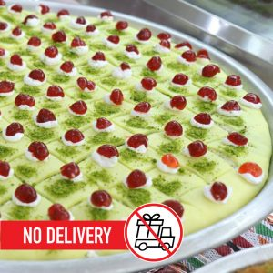 Syria-Sweet-Designs-Round-tray-sweet-cheese