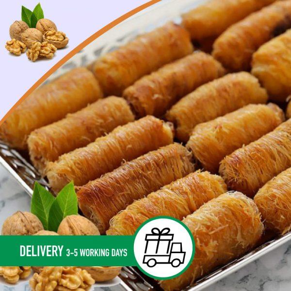 Syria-Sweet-Designs-Walnut-knafa-rolls