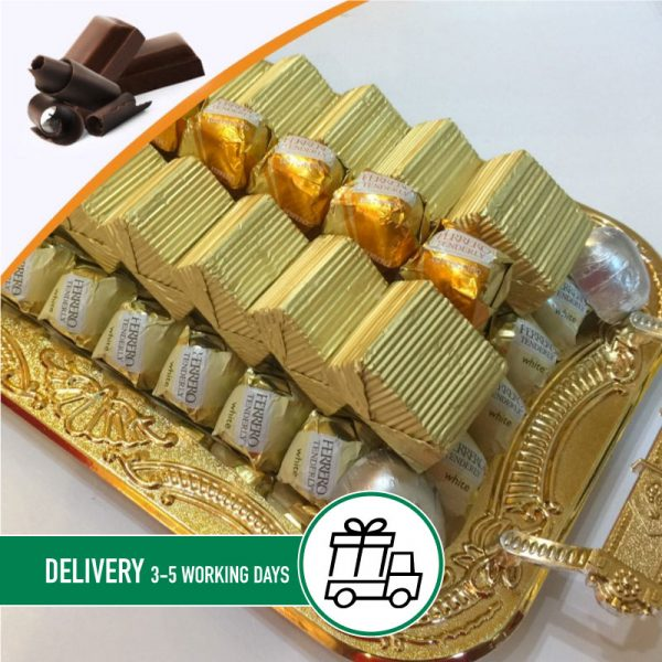 Syria-Sweet.Gold-chocolate-tray