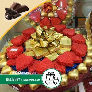 Syria-Sweet-Stuffed-Chocolate-tray